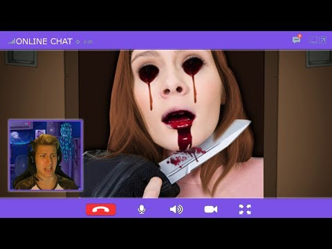 SCARY VIDEO CALL GONE WRONG.... [ONLINE CHAT HORROR GAME Creepypasta]