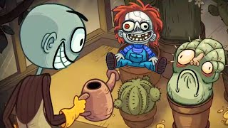 Troll Face Quest Horror All 3 Series 🎃Halloween Special🎃 - All Secret Scary Funny Levels Gameplay