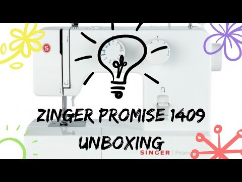 SINGER Promise 1409 unboxing
