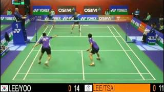 QF - MD - LEE Y.D. / YOO Y.S. vs LEE S.M. / TSAI C.H. - 2013 Hong Kong Open