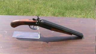 22 1114 m1881 pistol grip double barrel coach shotgun mpg