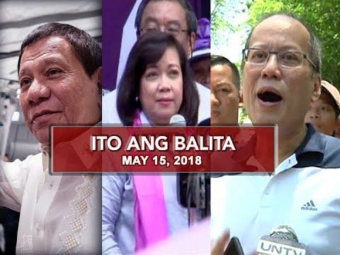 UNTV: Ito Ang Balita (May 15, 2018)
