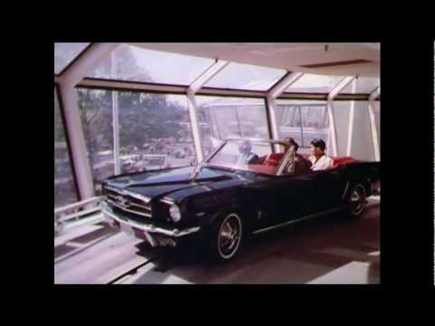 World's Fair 1964 Ford Mustang Magic Ride 16mm 1080i ProRes HD