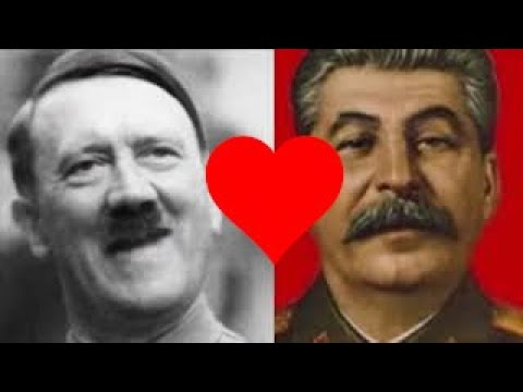 Hitler And Stalin Having A Great Time
