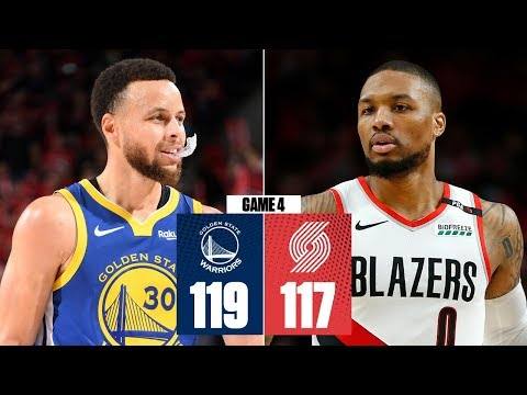 Jason Hurst - Warriors Beat Blazers 119-117 For 5th Straight NBA Finals Berth