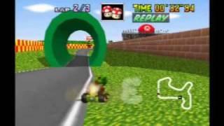 Mario Kart 64:  Mario Raceway world record