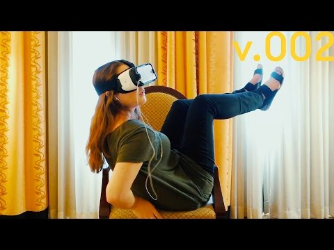 Trying Virtual Reality For the First Time