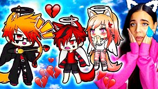 💕🖤 Cupid's Daughter and Anti Cupid's Son 5 🖤💕 Gacha Life Mini Movie Love Story Reaction
