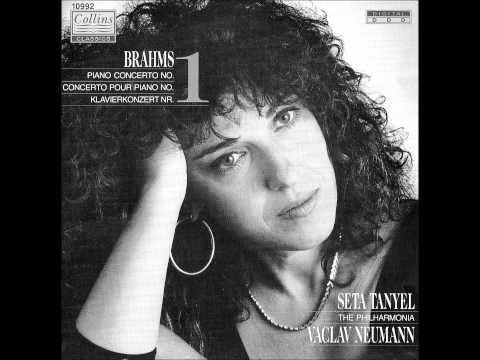 SETA TANYEL plays BRAHMS Piano Concerto No.1 Op.15 (1989)