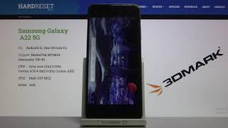 Prueba de rendimiento SAMSUNG Galaxy A22 5G | 3DMark Wild Life | MediaTek Dimensity 700 | 4GB RAM | Prueba de velocidad