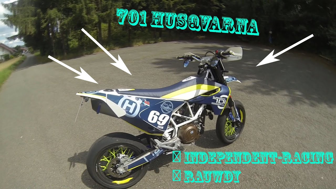 husqvarna 701 independent racing dekor motovlog 3