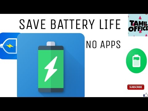 How To Save Battery Life  Without Apps | Android Tips | Tamil Office