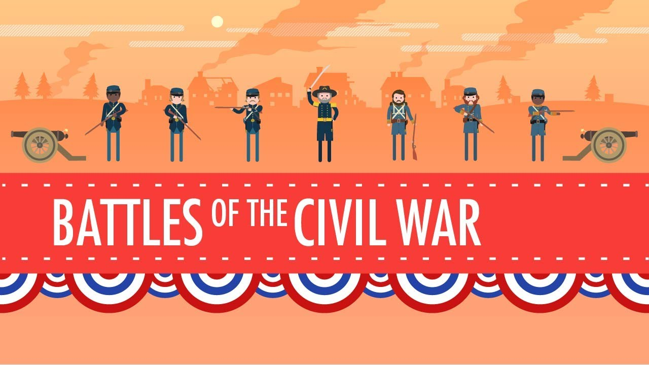 Battles of the Civil War: Crash Course US History #19 - YouTube