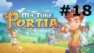 Let's Play My Time At Portia Part 18: Inspect Ur Gadget