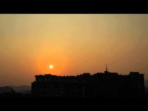 2015-08-07 Sunset of Huicheng Town