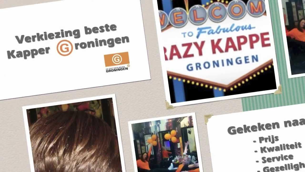 Beste Kapper Groningen Winnaar - Crazy Kappers - Youtube