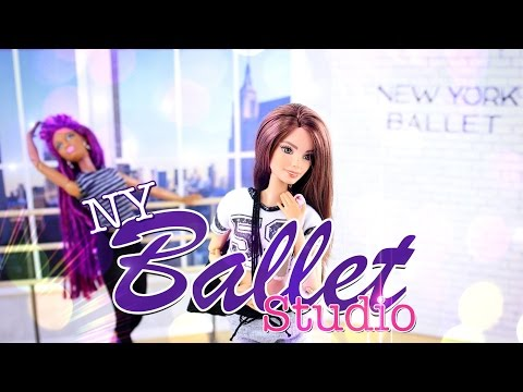 DIY - How to Make: New York Ballet Studio and Apartment - Dollhouse Crafts - 4K