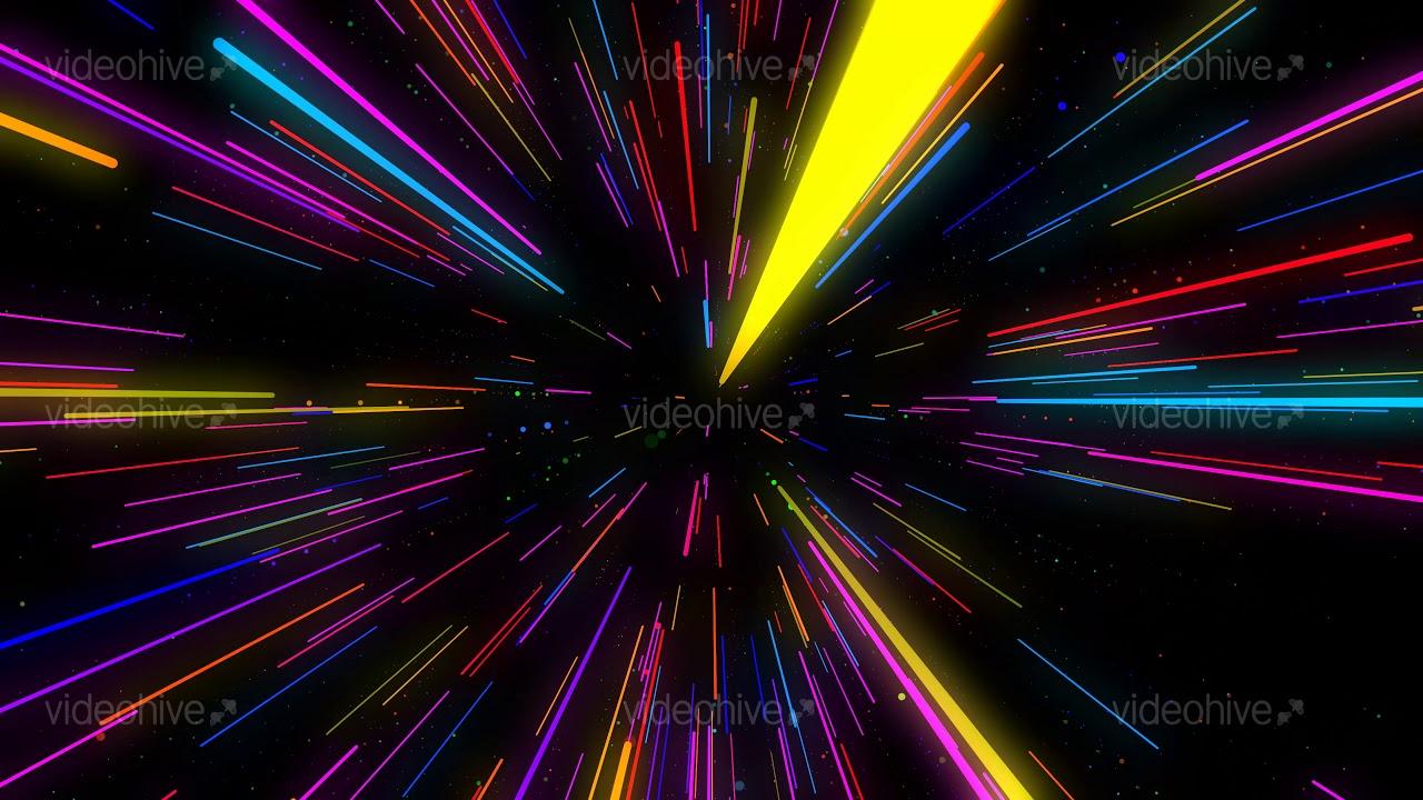 Colorful neon stripes lines 4k vj loop background youtube - Background images 4k hd ...