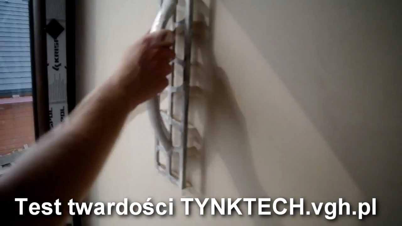 Tynk Tech Test Twardosci Knauf Diamant Tynki Gipsowe Twardsze Niz