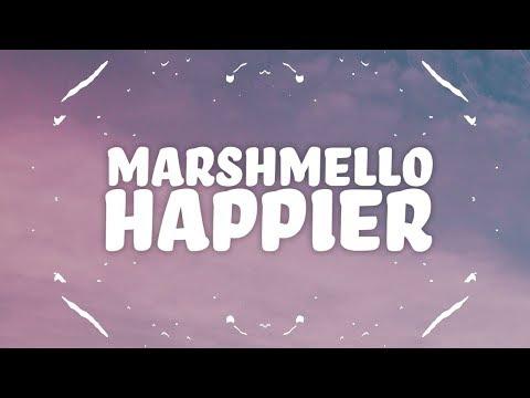 Marshmello, Bastille – Happier (Lyrics)