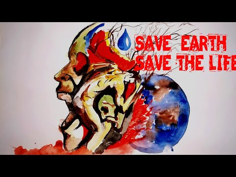 Save Water Save Life World Environment Day Poster Youtube