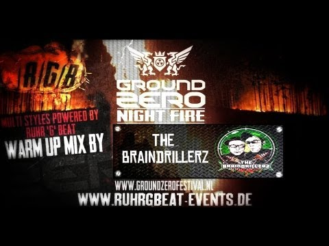Ground Zero - Ruhr'G'Beat Stage - The Braindrillerz warm up mix