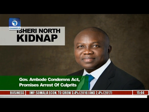 News across Nigeria: Ambode Condemns Isheri North Kidnap, Promises Arrest Of Culprits