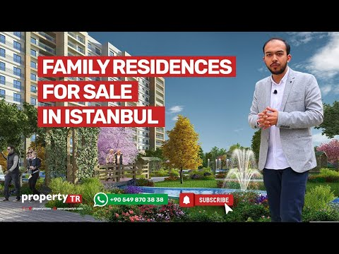 Family residences for sale in Istanbul, Turkey