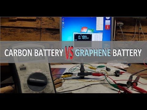 GRAPHENE battery VS CARBON battery