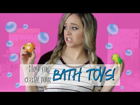 How To Clean/Disinfect Bath Toys    MickIsAMom