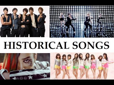Historical Songs Kpop Part #1