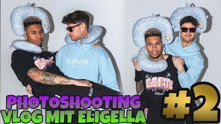 Photoshooting Vlog mit Eligella😂 Behind the scenes beim ELEVATE Shooting📸 VLOG #2🔥 | SIDNEYEWEKA
