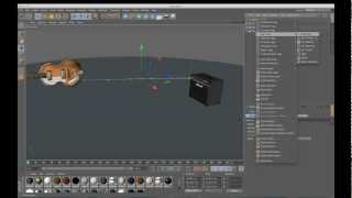 cinema 4d tutorial connecting dynamic splines to objects