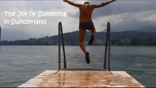 Wild Swimming - Switzerland - Rivers & Lakes -  Documentary - The Joy of Wild Swimming, Switzerland