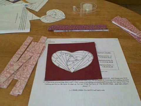Iris Folding Heart Project YouTube