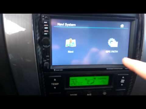 замена навигации в автомагнитоле 7021G (change Navigation In The Car 7021G)