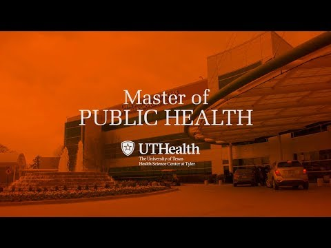 Master of Public Health at UTHSCT