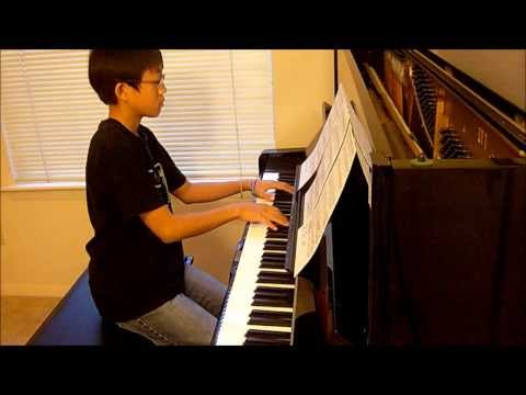 Beethoven Sonata No.8 Path'etique in C minor Op.13-II. Andante cantabile (Played by Wujeh Evan Kim)