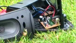 Overvolting a speaker