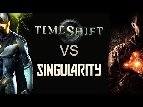 Битва вне времени: TimeShift VS Singularity