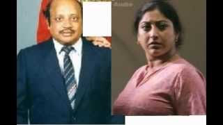 lakshmi gopalaswamy with her father