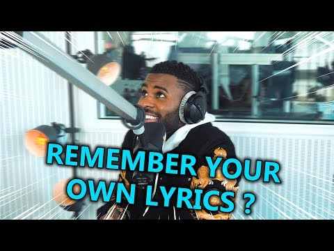 JASON DERULO  - REMEMBER YOUR OWN LYRICS ⚡ JAM FM
