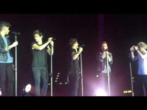 One Direction - Last First Kiss and Moments live in Zurich 16.05.2013