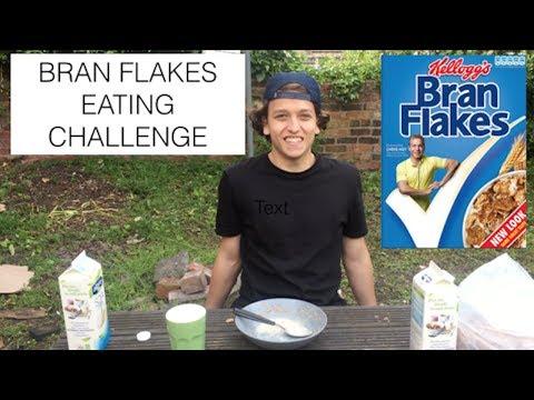 25 BOWLS OF BRAN FLAKES (67 mins) | Vegan Eating Challenge | Vegan Ambition