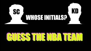 NBA INITIALS QUIZ