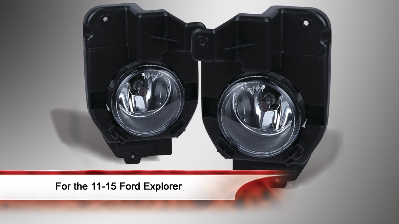 2011 2015 Ford Explorer Fog Light With Universal Switch