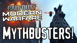 CROSS MAP NOOB TUBES? (Call of Duty: Modern Warfare Mythbusters)