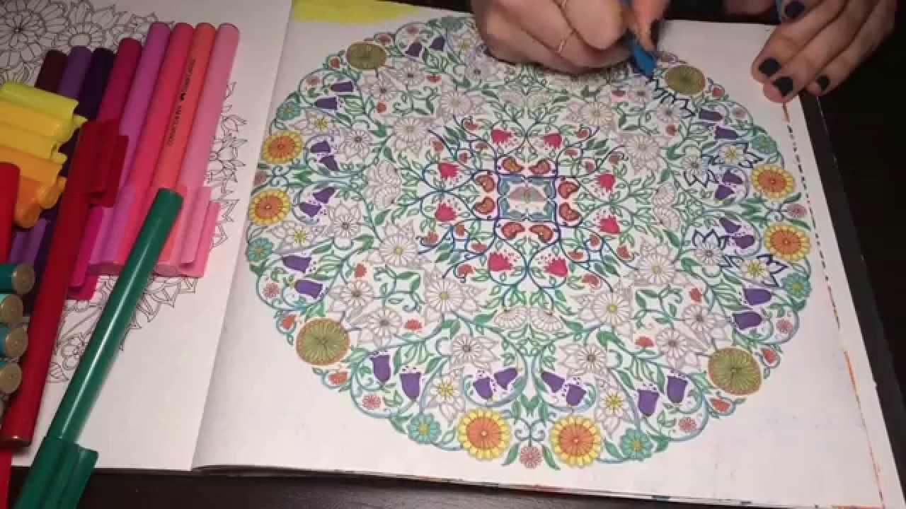 Esrarengiz Bahçe Boyama Kitabı Ilham Veren Benzersiz Ev Tasarımı