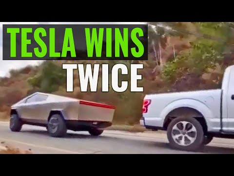How Tesla Cybertruck Beat Ford F-150 Twice