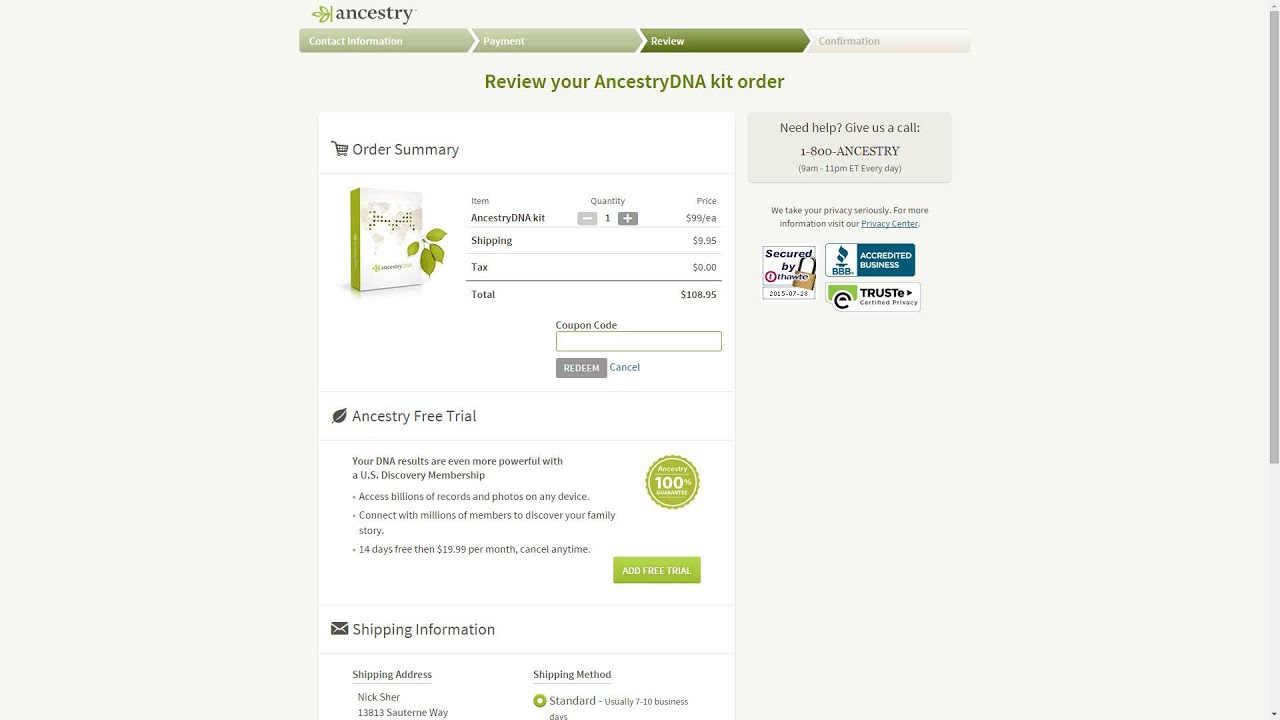 ancestry dna coupon code uk